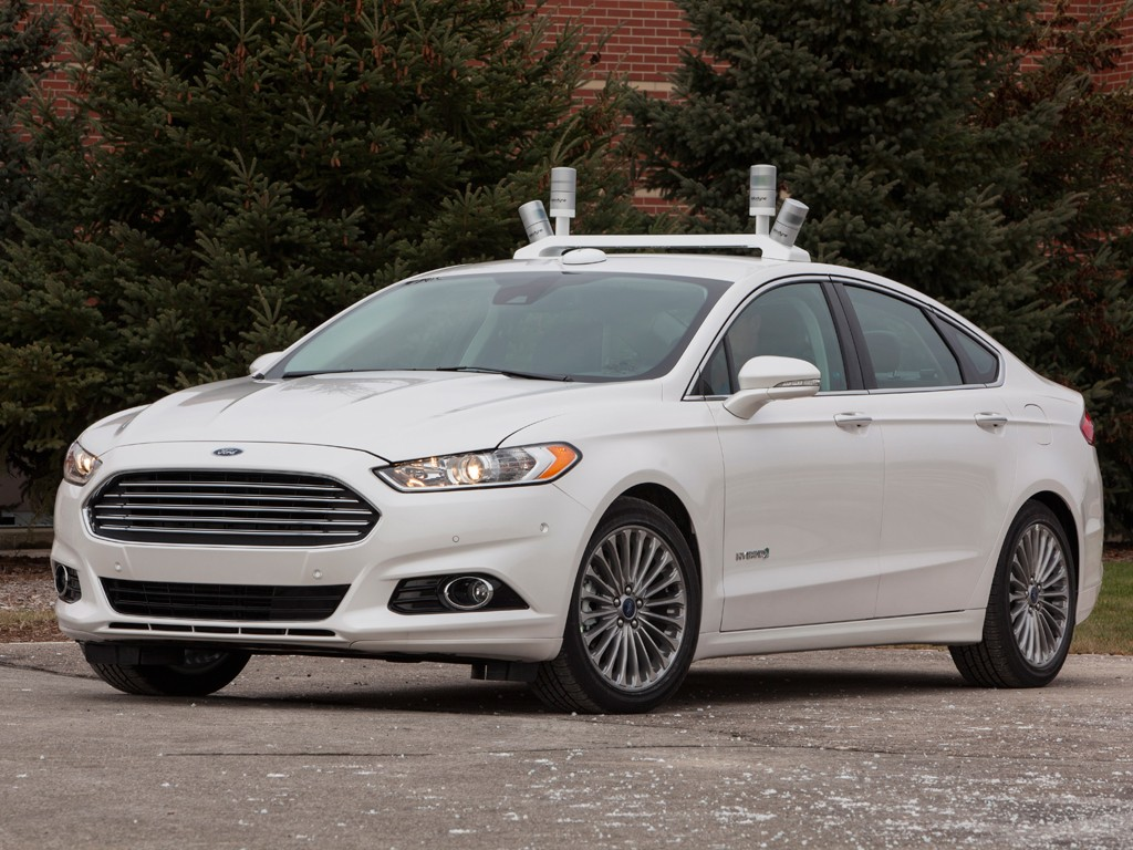 FORD AUTOMATED FUSION HYBRID