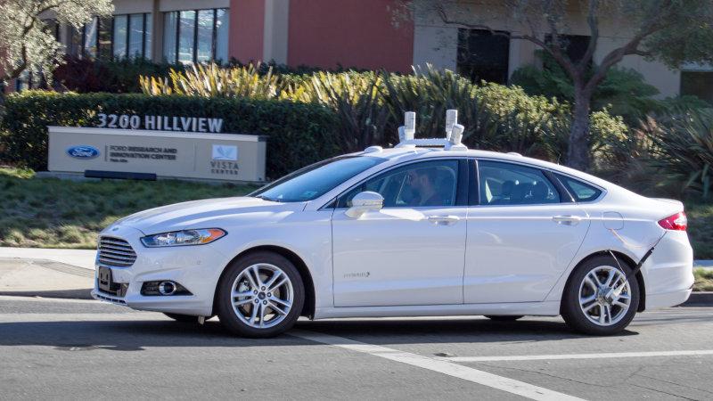 Autonomous-Ford-Fusion