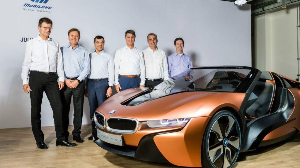 BMW Mobileye Intel