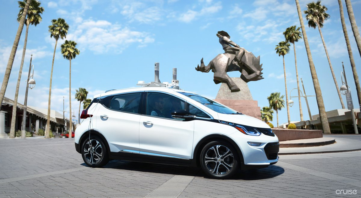 Self-Driving Bolt EVs Scottsdale