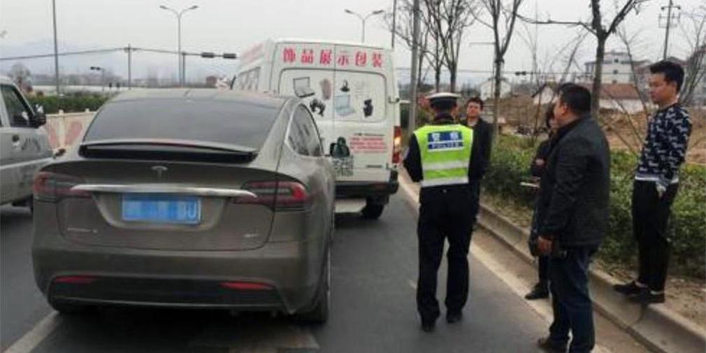 tesla autopilot accident china