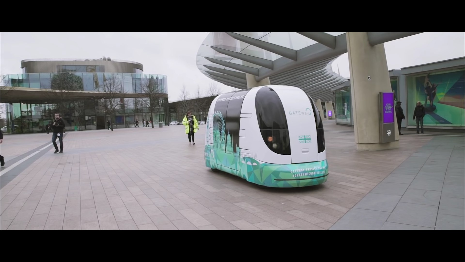 London trials driverless shuttle