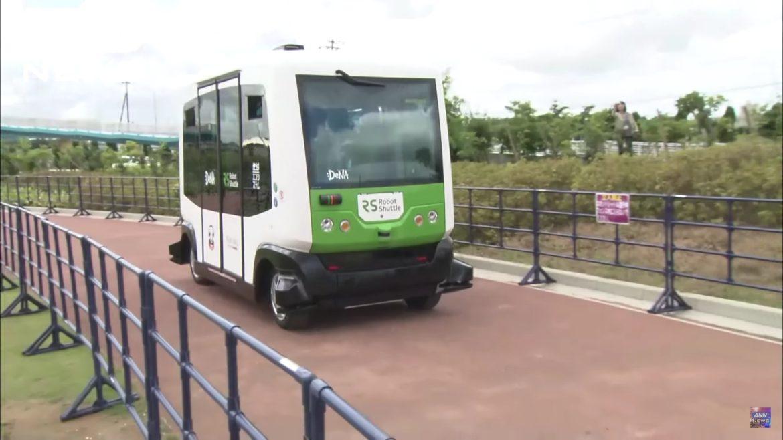 japan driverless car